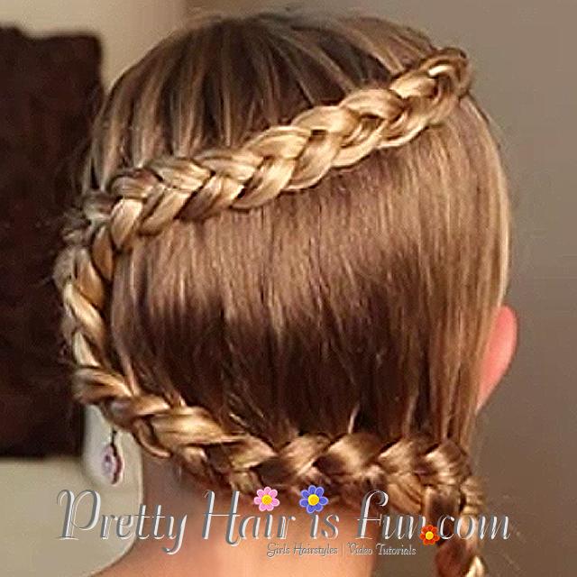 Pretty Hair Is Fun Multi Tier Hanging Braid Pretty Hair