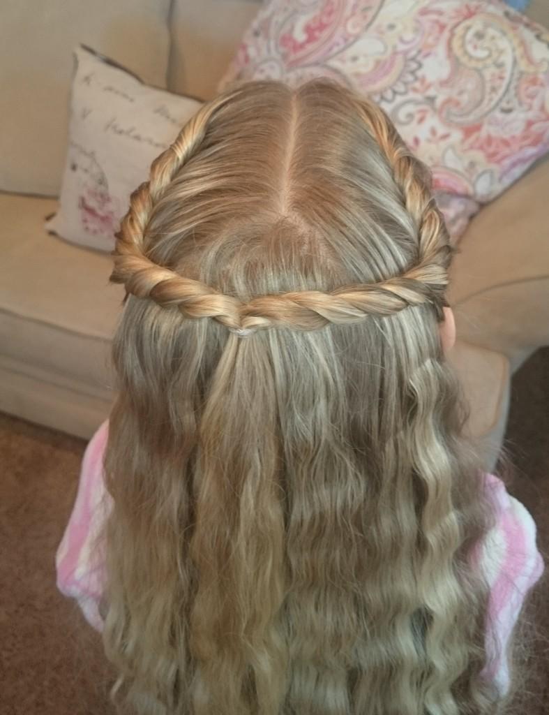 Pretty Hair Is Fun Rope Twist Halo Braid Pretty Hair Is