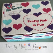 pretty hair fun bow