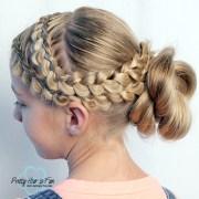 dutch lace braids updo
