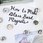how to make glass bead magnets horizontal photo
