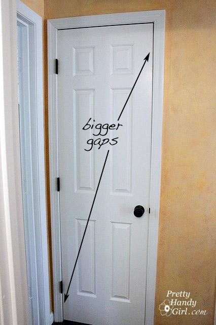 Fixing Common Door Problems - Pretty Handy Girl