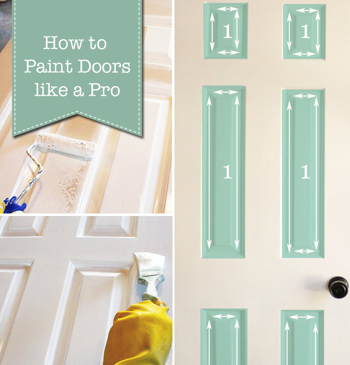 How to Paint Doors like a Professional | Pretty Handy Girl & How to Paint Doors (The Professional Way) - Pretty Handy Girl