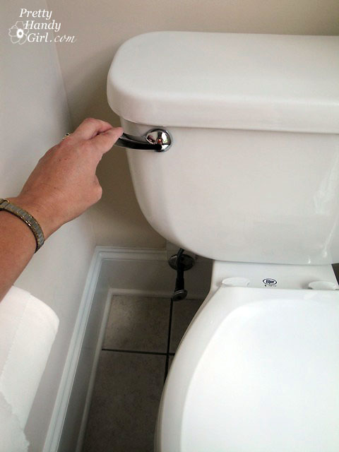 Toilet Repairs - Part 3 - Replacing the Overflow Tube and Flapper ...