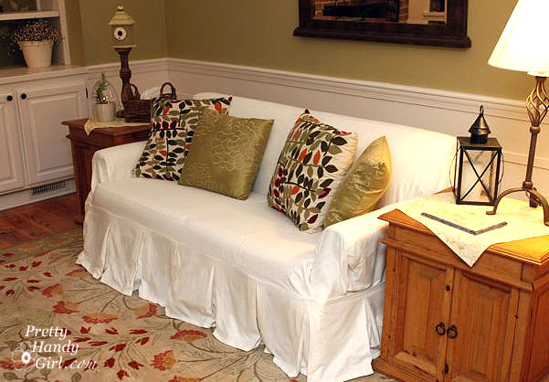 how to make a slipcover for sofa restoration hardware linen couch beautifully pretty handy girl