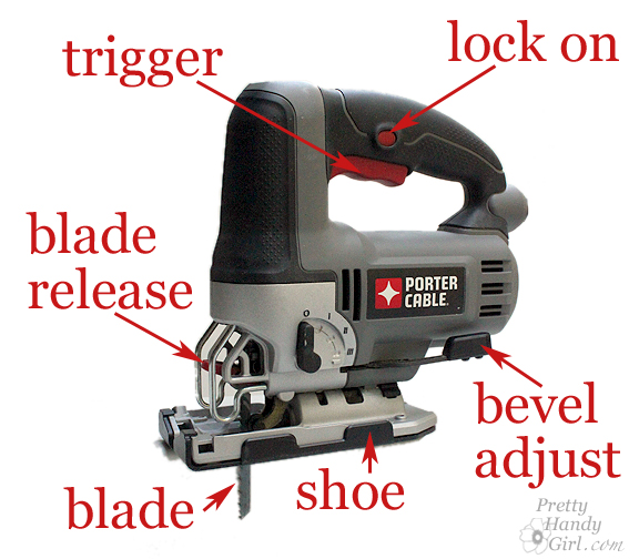 How to use a jig saw pretty handy girl orbital jigsaw that i highly recommend and its parts not every jig saw will look the same or have the same features but this gives you a good idea greentooth Gallery