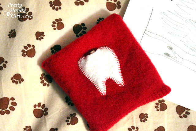 10 minute tooth fairy pillow