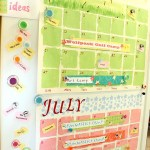 Summer Calendar and Our Bucket List