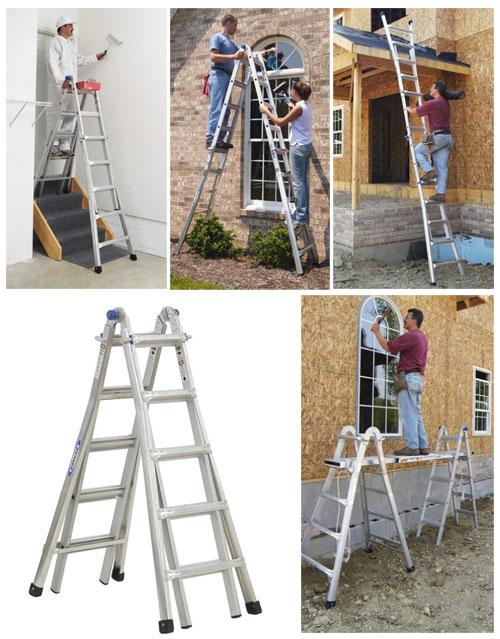 Werner Adjustable Ladder