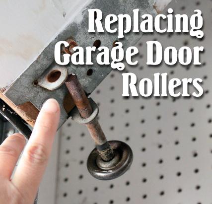 how to replace garage door rollers - How To Replace Garage Door Rollers