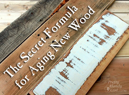 Make New Wood Look Old - Aging Wood FAST!