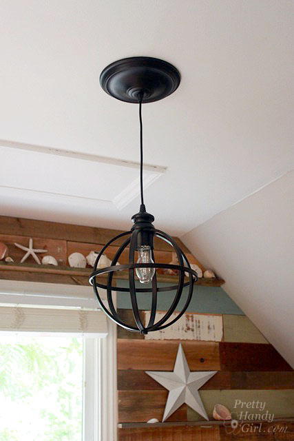 5 minute light upgrade converting a recessed light to a pendant save aloadofball Choice Image