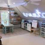 Art and Craft Studio using Flow Wall Reveal