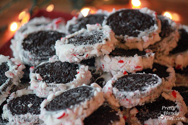 Gifts from Your Kitchen - Peppermint Oreos