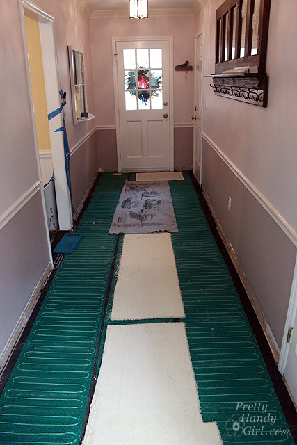 How to Install Radiant Floor Heating using WarmlyYours