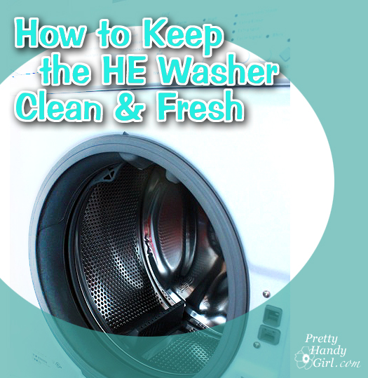 keep HE Clothes Washer CLean
