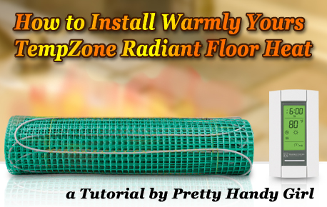 How to Install Radiant Floor Heat Mats Warmly Yours Wiring Diagram on