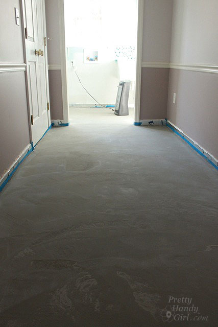 Level Concrete Slab