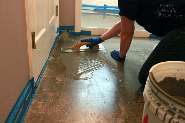 How To Patch And Level A Concrete Subfloor