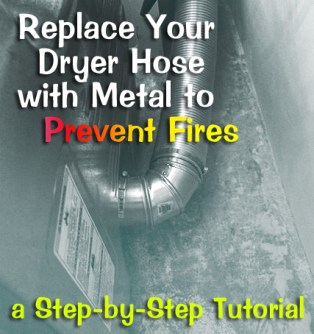 How to Replace Your Flexible Dryer Hose   Pretty Handy Girl