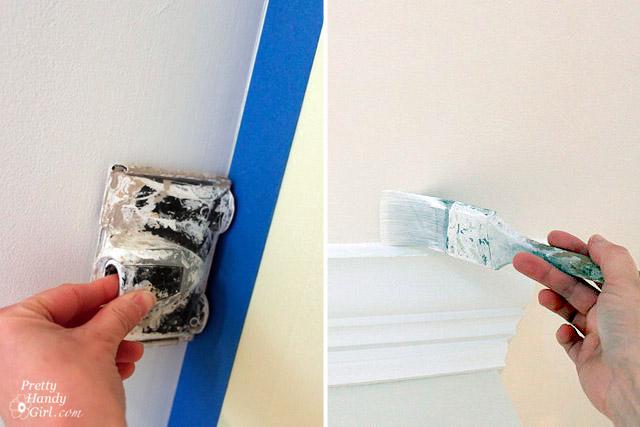 How To Edge Paint Along Ceiling Www Lightneasy Net