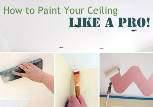 How to Paint Ceilings Like a Pro