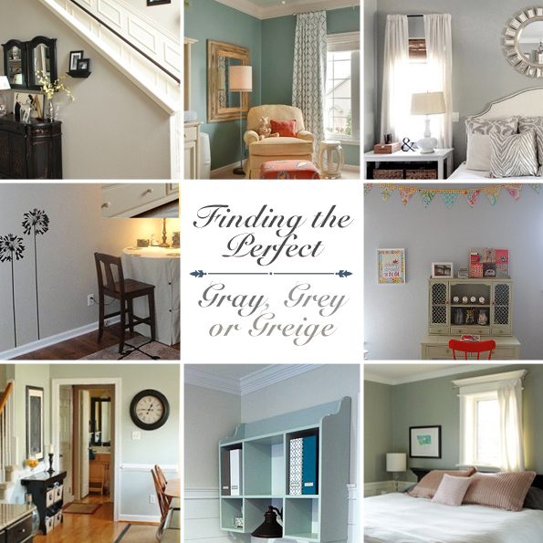 Home Design Ideas Decorating Gardening: Gray, Grey Or Greige {Finding The Perfect Gray}
