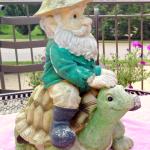 Garden Gnome-Before Makeover