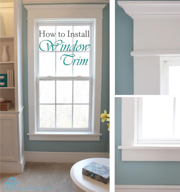 How To Install Window Trim Pretty Handy Girl