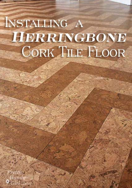 How to Install a Herringbone Cork Tile Floor