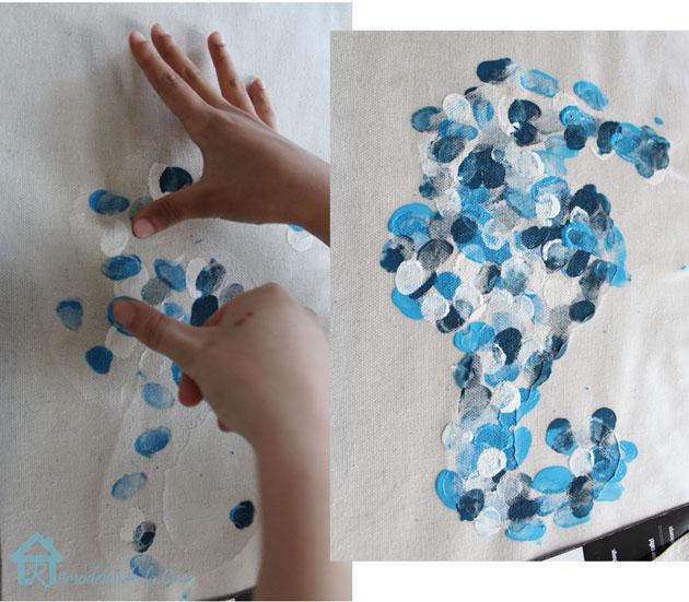 thumb painting