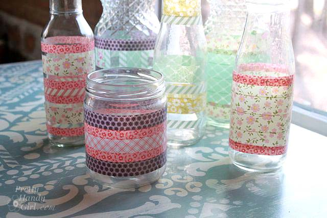 washi_taped_recycled_jars