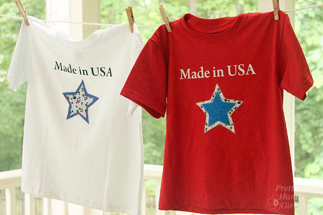 made in usa star shirts
