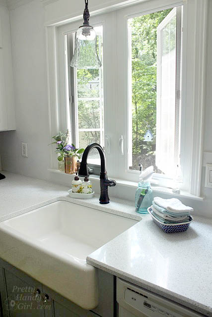 casement window over sink