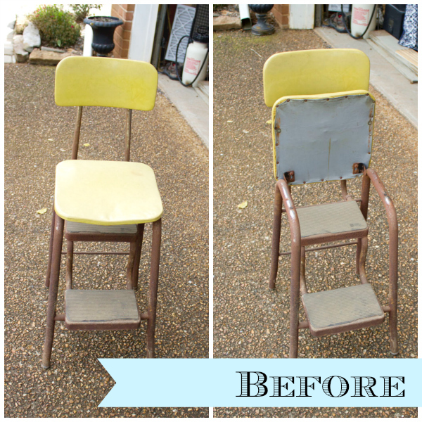 Merveilleux Curbside Step Stool Makeover