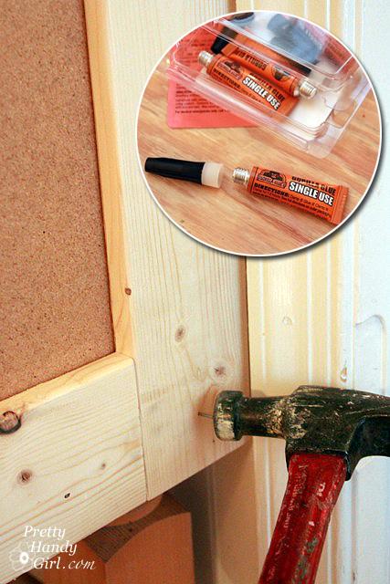 glue_nail_frame_to_desk_side