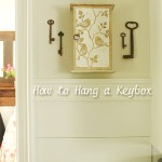Hanging a Key Box from London
