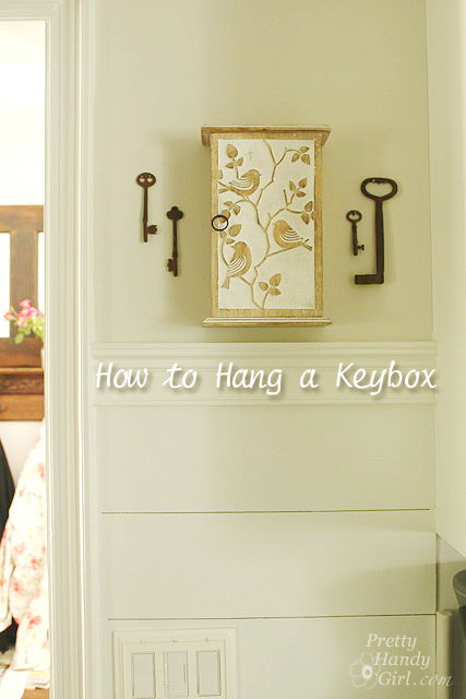 how to hang a keybox