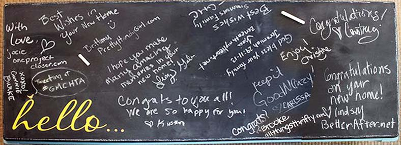 messages_on_chalkboard_table