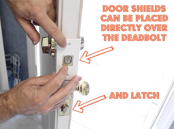 Door Shield Install