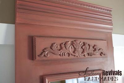 French Style Trumeau Mirror | 30 Amazing DIY Mirrors