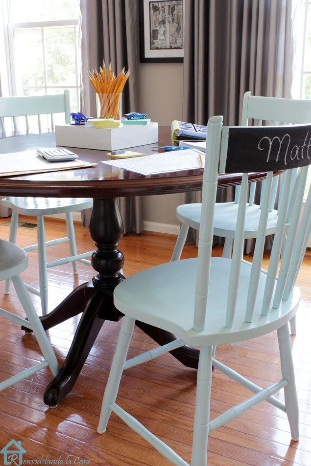 diy painted windsor chairs all steel the a second chance makeover pretty handy girl painting