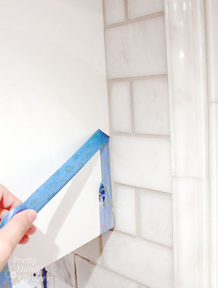 Pretty Handy Girl's Guide to Tiling a Backsplash: Part 2 - Grouting