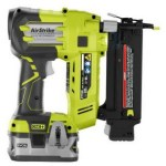 Ryobi Battery Powered vs. Campbell Hausfeld Pneumatic Finish Nailer Comparison