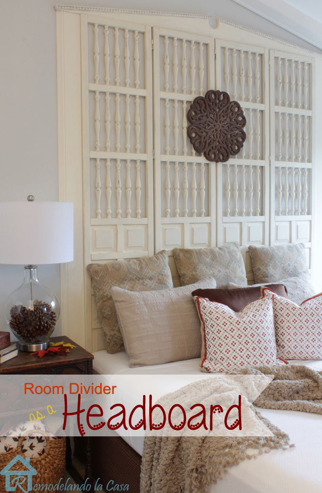 DIY Room Divider King Headboard