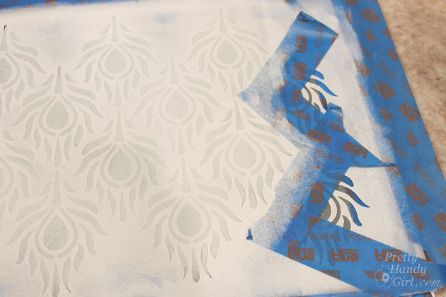 Stenciled and Dyed Scarves Tutorial   Pretty Handy Girl