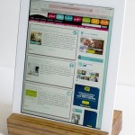 Scrap Wood iPad Tray by Infarrantly Creative