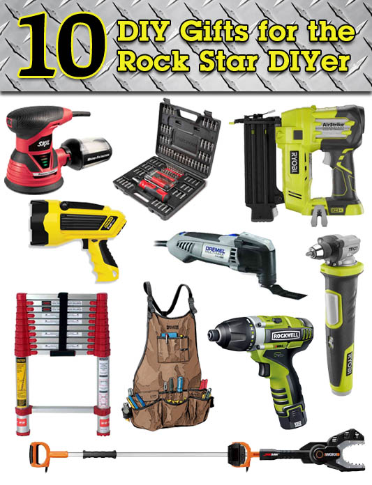 10 DIY Gift Ideas for the Rock Star DIYer