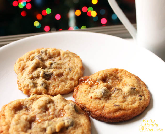 Gifts from your Kitchen - Salted Caramel Chocolate Chip Cookies
