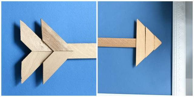 Wooden Shim Arrow